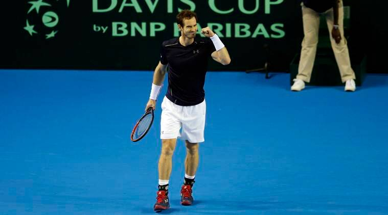 andy murray, murray, murray vs del potro, del potro vs murray, davis cup, davis cup tennis, tennis news, tennis