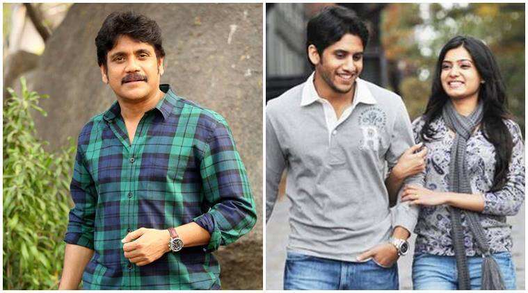 Image result for nagarjuna and naga chaitanya and samantha