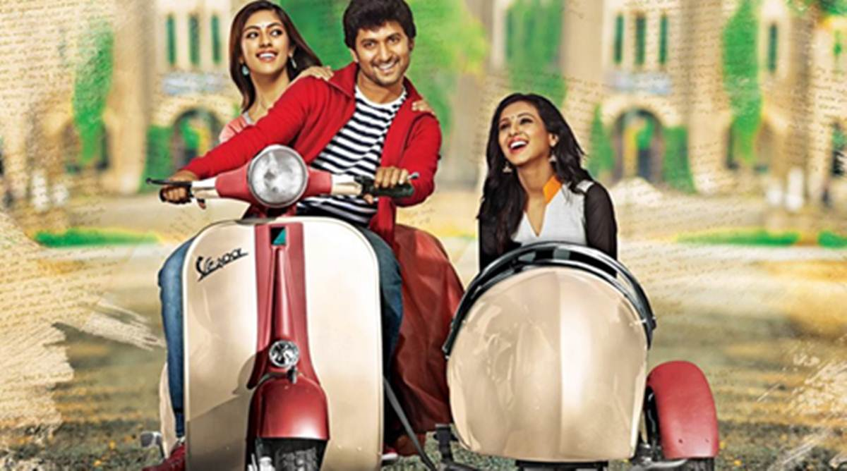 Majnu Movie Review Nani Makes The Script Work Entertainment News The Indian Express