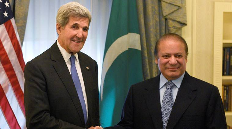 uri attack, nawaz sharif uri, nawaz sharif in us, john kerry nawaz sharif, pakistan on uri, us pakistan, us against terror, us on uri attack, uri attack update, world news, indian express,