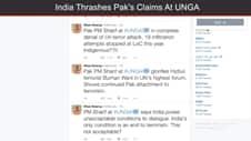 India Reacts Sharply To Pakistan PM Nawaz Sharif's UNGASpeech