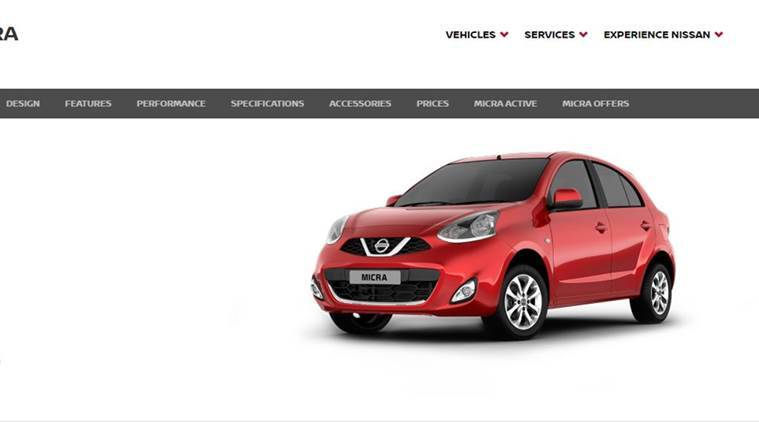 nissan micra, nissan cars, nissan micra price, nissan new cars, cars news, indian express,