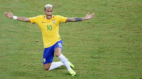 World Cup Qualifiers: Neymar goal gives Brazil 2-1 win over  Colombia