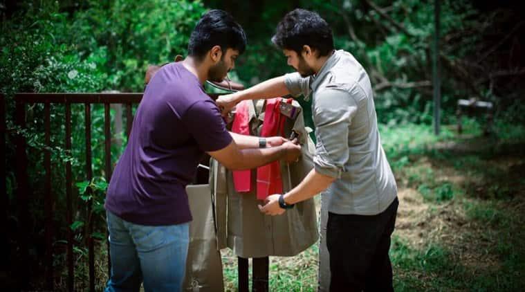 Picture of police Khakis worn by Pawan Kalyan from the blockbuster movie Gabbar Singh. (Source: Twitter/Samantha)