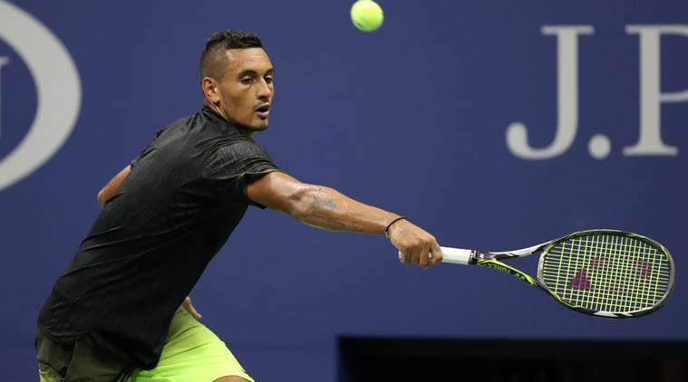 Nick Kyrgios will have to overcome two home players if he is to retain his crown. (Reuters)