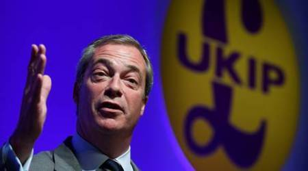 Donald Trump's friend Farage taunts British PM with 'ambassador's reception'