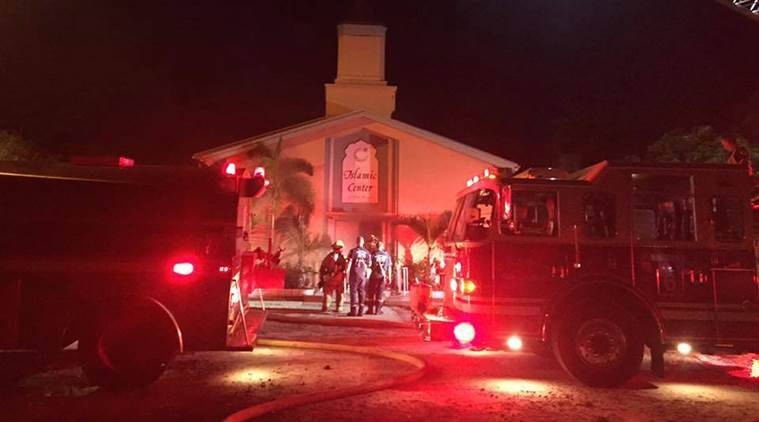 Fort Pierce, florida mosque fire, florida mosque fire suspect confessed, Florida, Florida mosque, Fort Pierce mosque, mosque arson, Fort Pierce mosque arson, Fort Pierce mosque fire, mosque fire, Omar Mateen, Islamic Centre, Islamic Centre fire, Florida news, Fort Pierce news, world news, latest news, Indian express