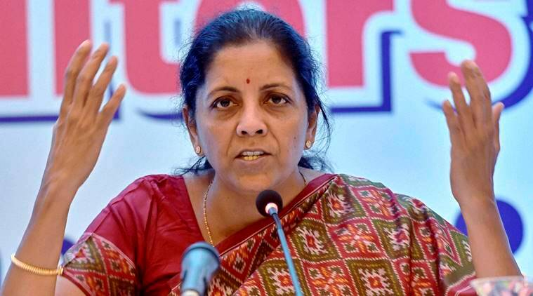 Nirmala Sitharaman, union minister Nirmala Sitharaman, Nirmala, Sitharaman, Telangana, modi government, center, Andhra pradesh,  Polavaram irrigation project, Polavaram project, latest india news