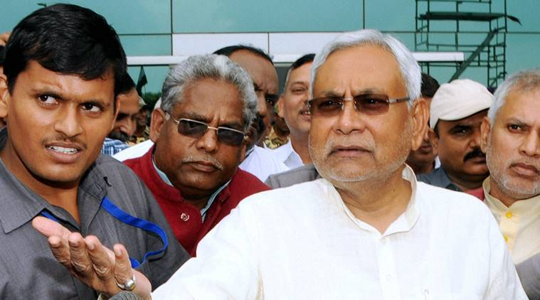 Nitish Kumar, Bihar CM Nitish Kumar, Nitish, Bihar chief minister, BJP government Uttar Pradesh, UP, Indian Railways, Railways, Railway surge pricing, India news, Indian express news, India