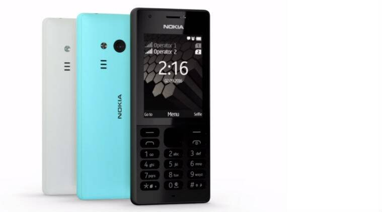 Cheap Full Coverage >> Nokia 216 Dual SIM with 2.4-inch display launched at Rs 2,495 | The Indian Express