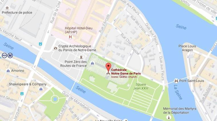 Paris 2 Detained After Gas Canisters Found Near Notre Dame World