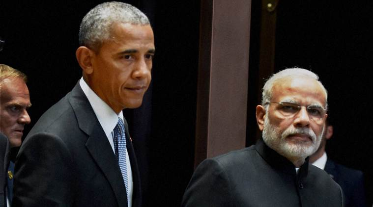 obama, barack obama, narendra modi, modi, india us, india united states, india us defence deal, india drone aircraft military surveillance, military surveillance, indian defence, india news, indian express