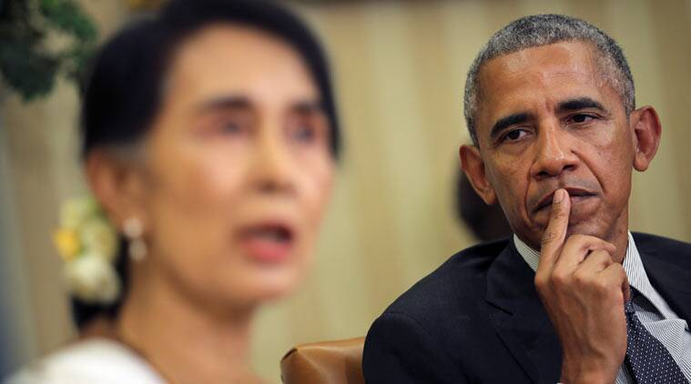 U.S. to lift trade sanctions against Myanmar