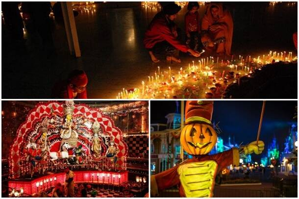 october festivals, diwali, dussehra, durga puja, halloween, jodhpuriff, thailand vegetable festival, indian express, indian express news