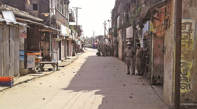 odisha, odisha communal violence, lord ganesh idol broken, hindu muslim violence, ganesh pooja violence, communal violence, communal violence rourkela, communal violence balasore, communal violence india, india news, indian express