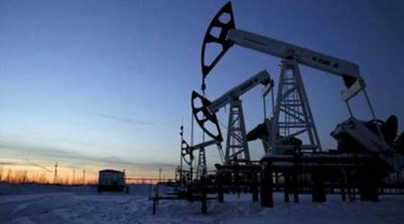 Crude oil futures up on positive global cues