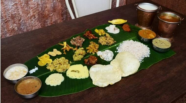 Happy Onam 2017, Onam 2017, Onam, onam sadhya, onam sadhya dishes, onam sadhya avial sambar, Thiruvonam, Thiruonam 2016, Happy Onam. Kerala celebrates Onam, Malayalis celebrate Onam, indian express, indian express news