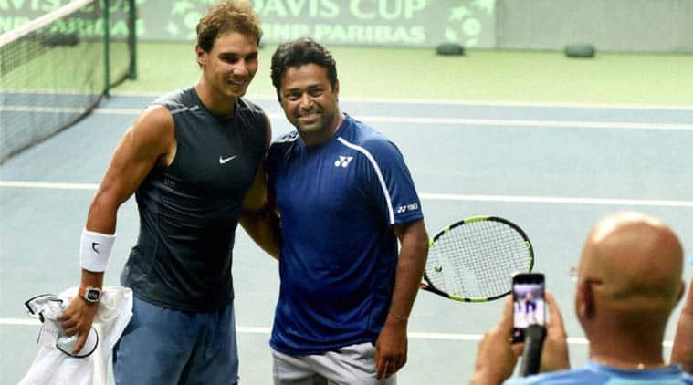 davis cup, davis cup tennis, india vs spain, spain vs india, india vs spain tennis, rafael nadal, nadal, leander paes, tennis news, tennis