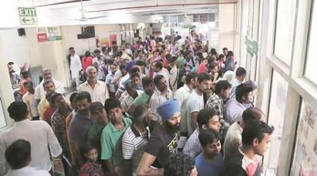 Panchkula General Hospital Laboratory technicians return to work after stir, patients line up for tests