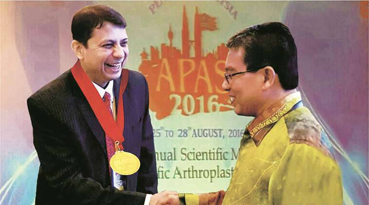 Parag Sancheti, Sancheti Hospital, Asia Pacific Arthroplasty Society, APAS, pune news