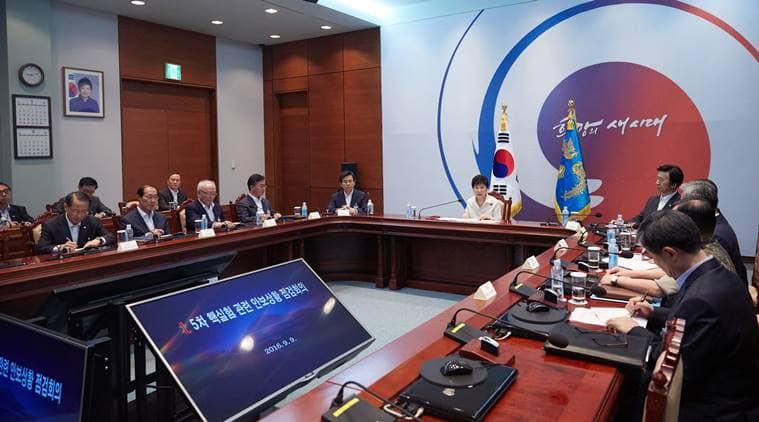 South Korea, Park Geun-hye, Japanese, Shinzo Abe, South korea nuclear test, south korea nuclear, japan south korea, north korea, nuclear test, north korea nuclear test, korea nuclear test, South Korea north korea, world news, latest world news