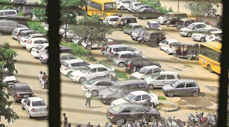 Parking, reserved parking, parking lots, F&CC, parking rates, parking lots tenders, Chandigarh, Chandigarh news, latest news, Indian express