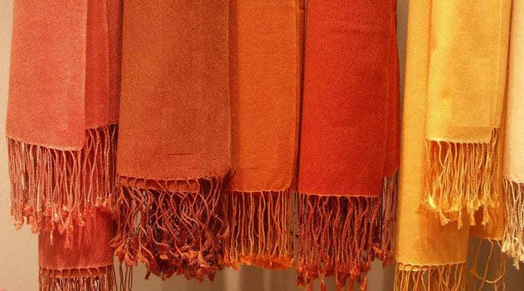 vismaya, vismaya in india, vismaya shawls, vismaya stoles, vismaya pashmina, foreign brands in india, global fashion, fashion in India, indian express, indian express news