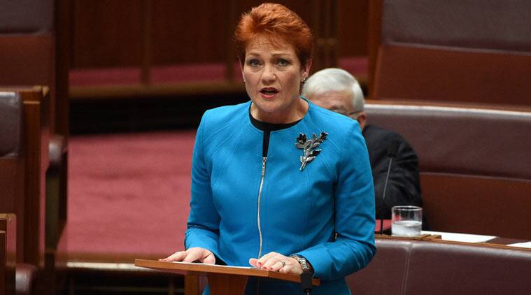 australia, australia muslims, muslims in australia, one nation, pauline hanson, one nation australia, australia news, world news
