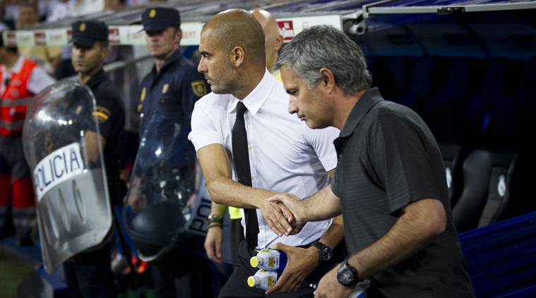Manchester derby, Jose Mourinho, Mourinho, Pep Guardiola, Guardiola, Pep vs Jose, Mourinho vs Guardiola, Manchester derby league, football derbies, Manchester derby managers, football, football news, sports, sports news