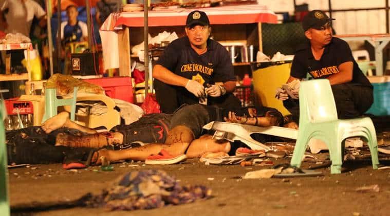 philippines, philippines blast, bomb blast, philippines bomb blast, philippines market explosion, Rodrigo Duterte, philippines president, explosion philippines, abu sayyaf philippines, philippines terror attack, world news, latest news