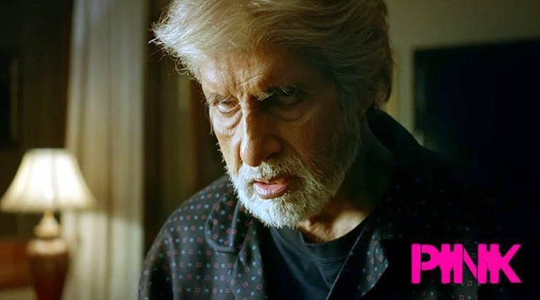 Pink box office, Pink box office collections, Pink movie box office collections, Pink amitabh bachchan, amitabh bachchan, Pink day 1 box office collections, Pink taapsee pannu, Pink movie starts slow, Pink strong word of mouth, Entertainment, indian express, indian express news