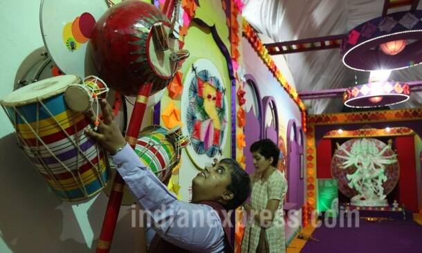 Ganesh Chaturthi preparations: Awe-inspiring Lalbaugcha Raja Ganesh idol revealed