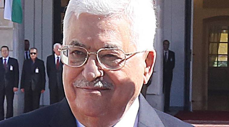 Palestinian President Mahmoud Abbas, Mahmoud Abbas slams US embassy, US president-elect Donald Trump, US embassy shift, US embassy Jerusalem, Tel Aviv US embassy shift, world news, indian express news,