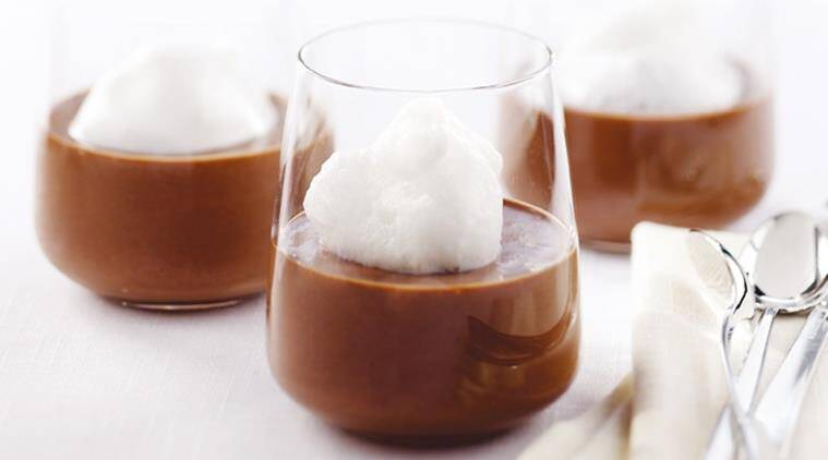 This Bittersweet Chocolate and Maple Syrup Pot De Creme is really easy to make. You just need a little patience and lots of love to make it.