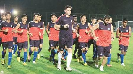 India U17 side's first show at AFC U16 Championship