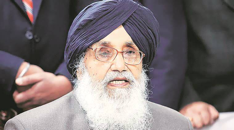 Prakash Singh Badal, SYL canal, SYL canal issue, Latest news, India news, Pritam Singh Kumedan, India news, latest news