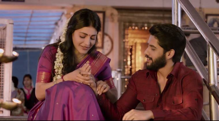 Premam trailer, Premam, Premam movie trailer, Premam movie, Premam telugu trailer, Premam telugu remake, Premam malayalam film, Premam telugu trailer out, Premam trailer promising, Entertainment, indian express, indian express news, Naga chaitanya, Shruti Haasan, Anupama Parameswaran, Madonna Sebastian