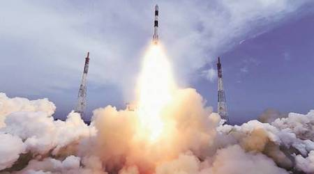 PSLV, ISRO, PSLV launch, ISRO rocket launch, ISRO rocket, ISRO rocket launch today, PSLV rocket launch, satellite launch, isro satellite launch, indian express news, science, india news
