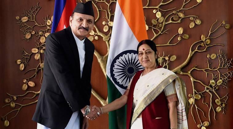 Sushma Swaraj, India Nepal, Nepal India,Prakash Sharan Mahat,bilateral relations, Sushma swaraj twitter, news, latest news, national news, Delhi news, India news, Nepal news