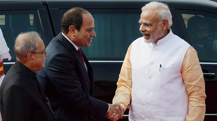 India, Egypt, India-Egypt, Indo-Egypt, bilateral talks, bilateral ties, defence, security, trade, climate change, India-Egypt ties, India news