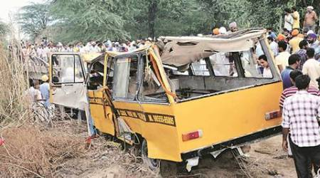 Two killed, 25 injured in truck-bus collision inAssam