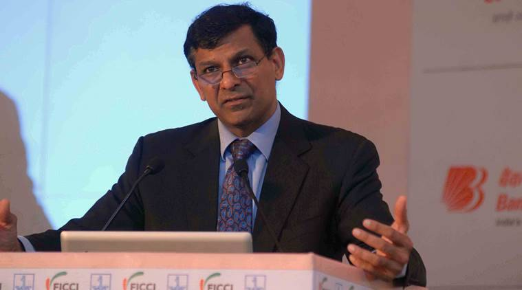 Raghuram Rajan, former RBI governor, RBI, Governor, Commerce, Economy, GSt, Indian Express