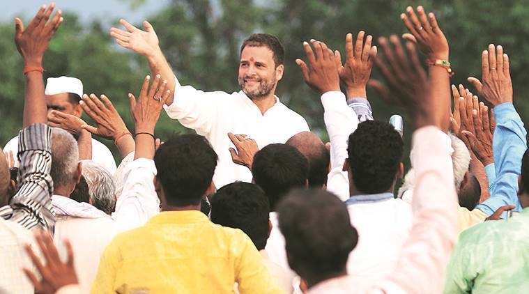 Rahul Gandhi, Rahul Gandhi Road Show, Mahakisan Yatra, Uttar Pradeh News, rahul Gandhi Uttar Pradesh, Kisan Mahayatra in Uttar Pradesh, Uttar Pradeh election race, India news, Uttar Pradeh news, latest news, India