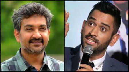 rajamouli, m s dhoni, ms dhoni, dhoni movie, dhoni movie trailer, dhoni hyderabad, dhoni rajamouli, dhoni songs, dhoni movie songs, ms dhoni hyderabad, tollywood news, entertainment news