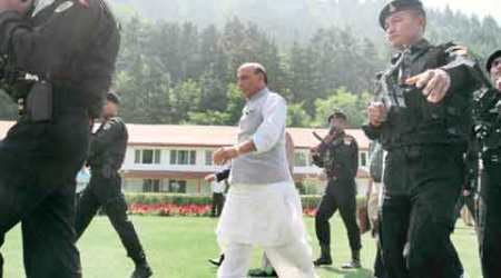 Hurriyat cold shoulder isn't Kashmiriyat, says Rajnath Singh, repeats we are open to talks