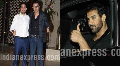 A nerdy Ranbir Kapoor, a macho John Abraham party with Ambanis at Antilia