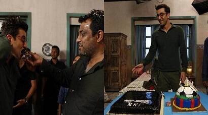 Katrina Kaif is missing as Ranbir Kapoor celebrates birthday on Jagga Jasoos sets