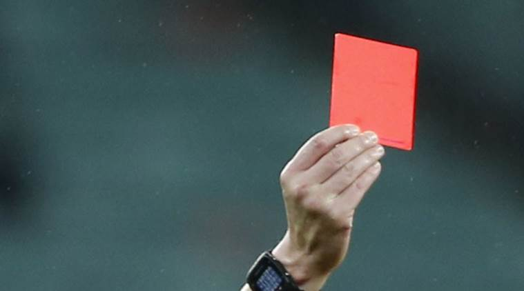 Football video technology, Football red card rules, Football video technology rules, Referee, Bjorn Kuipers, Djibril Sidibe, football, sports, sports news