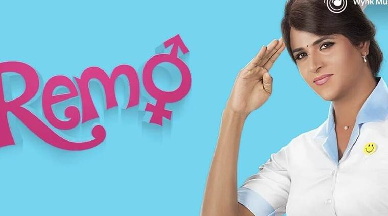 proud to have played a woman in remo sivakarthikeyan