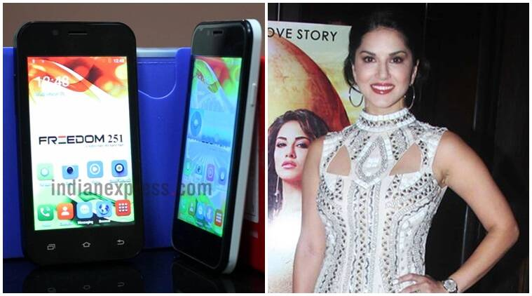 Sunny Leone, Freedom 251, Ringing bells, selfie with Sunny Leone, Ringing bells loyalty programme, buy Freedom 251, Freedom 251 features, Freedom 251 specifications, Freedom 251 delivery, smartphones, Android, technology, technology news